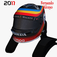 Alonso indy helmet 2017
