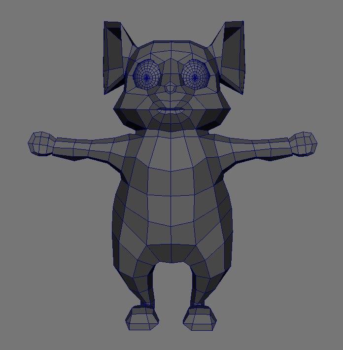 3D mouse rat model