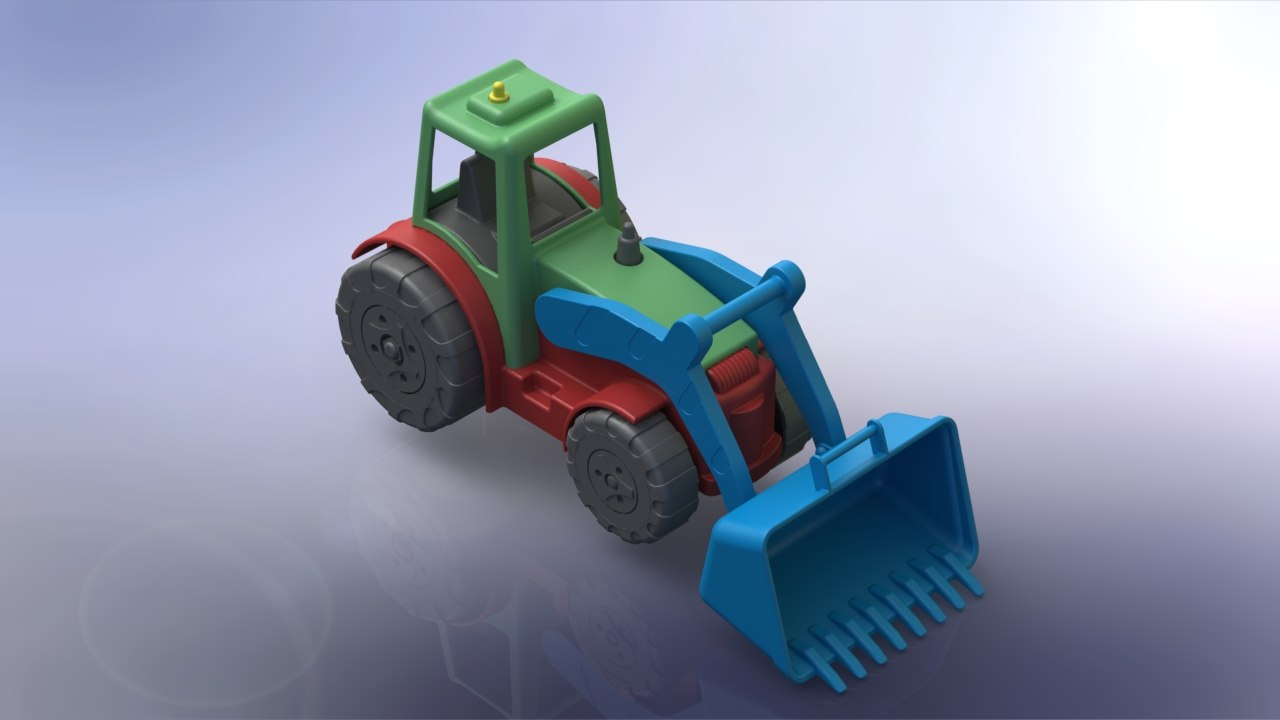 3D toy solidworks