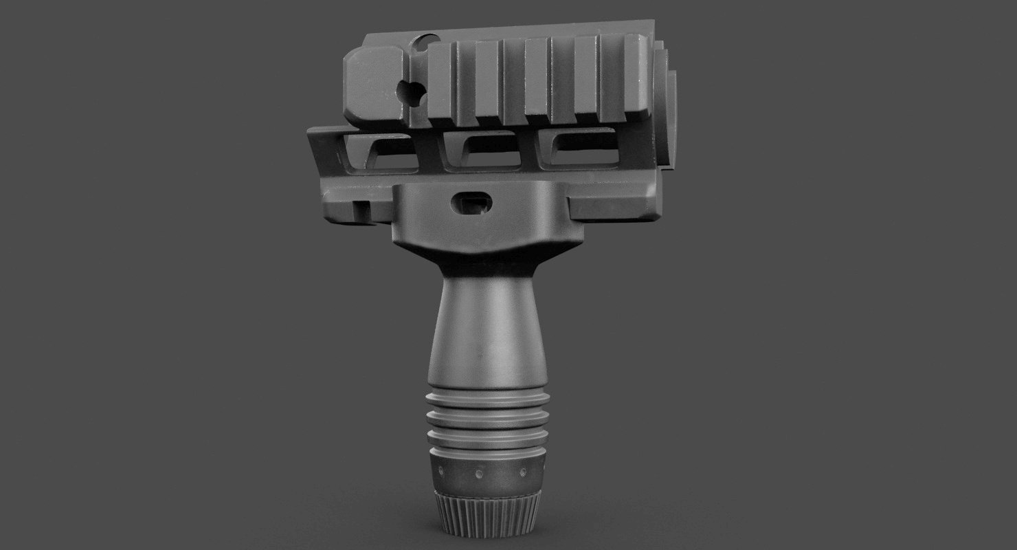 handguard 3D model
