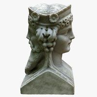 Dual Head Bust