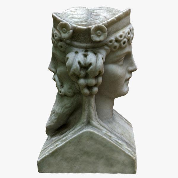 dual head bust model