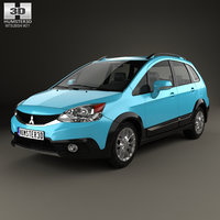 mitsubishi colt x-sports 3D model