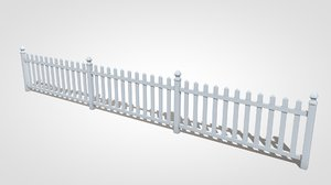 picket fence model