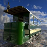 Old tram Siemens&Halske