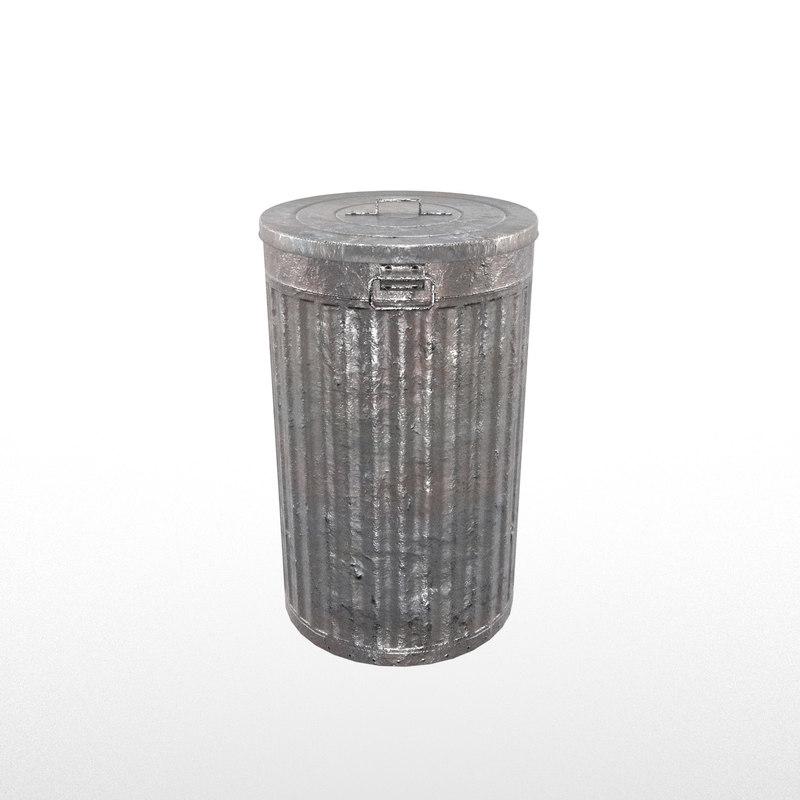realistic trash model