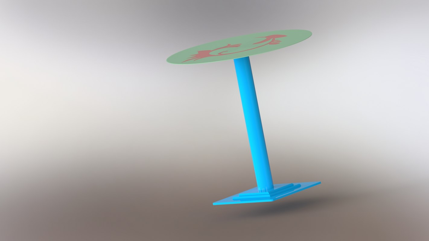3D modeled metal decor