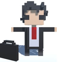 3D model voxel