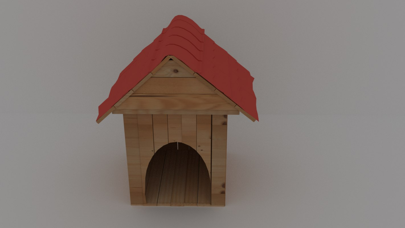 3D kennel wood