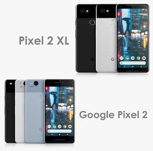 google pixel 2 xl 3D model