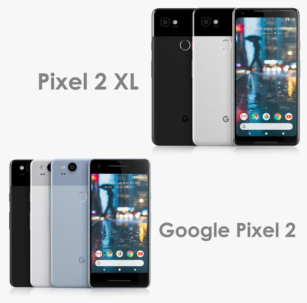 google pixel 2 xl 3D model