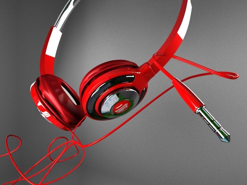 headphone phone 3D