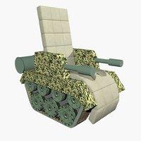 chair tank 3D model