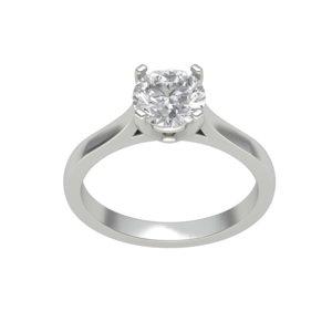 3D gem ring model
