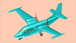 p 166 utility aircraft model