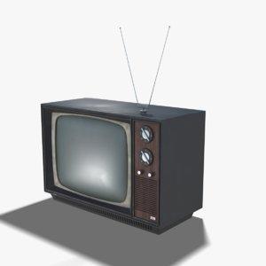 tv 70s 3D model