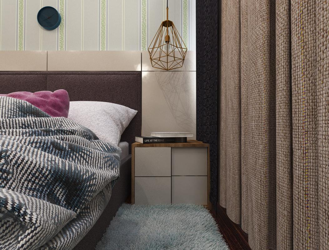 bedroom interior 3D model