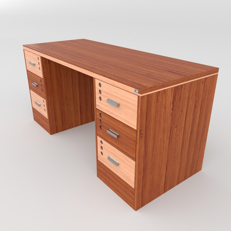 office table 3D