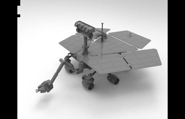 mars rover 3D