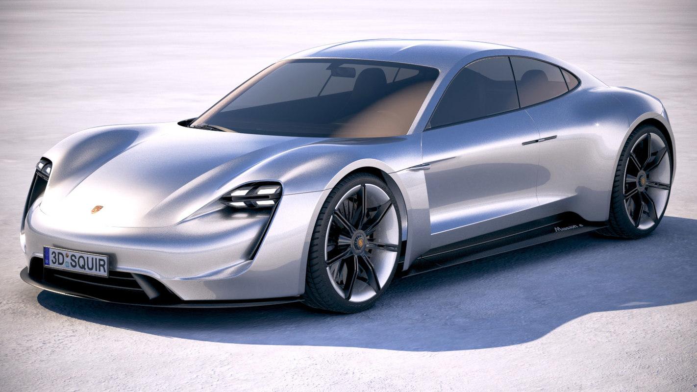 100 Porsche Mission E Making Of