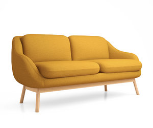 3D interior oslo 2 seater