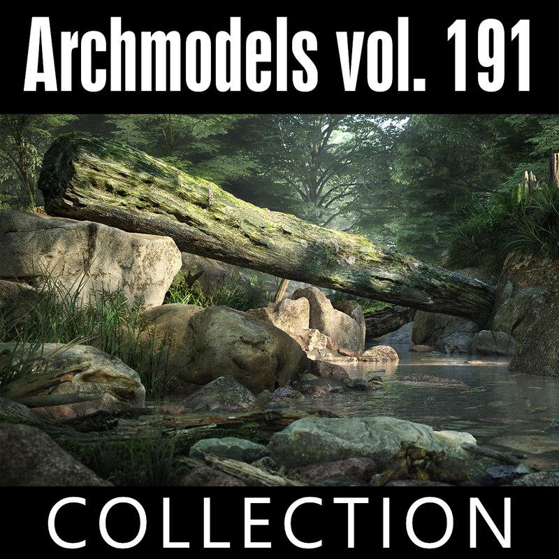 3D archmodels vol 191 model