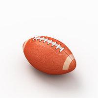football ball american 3D
