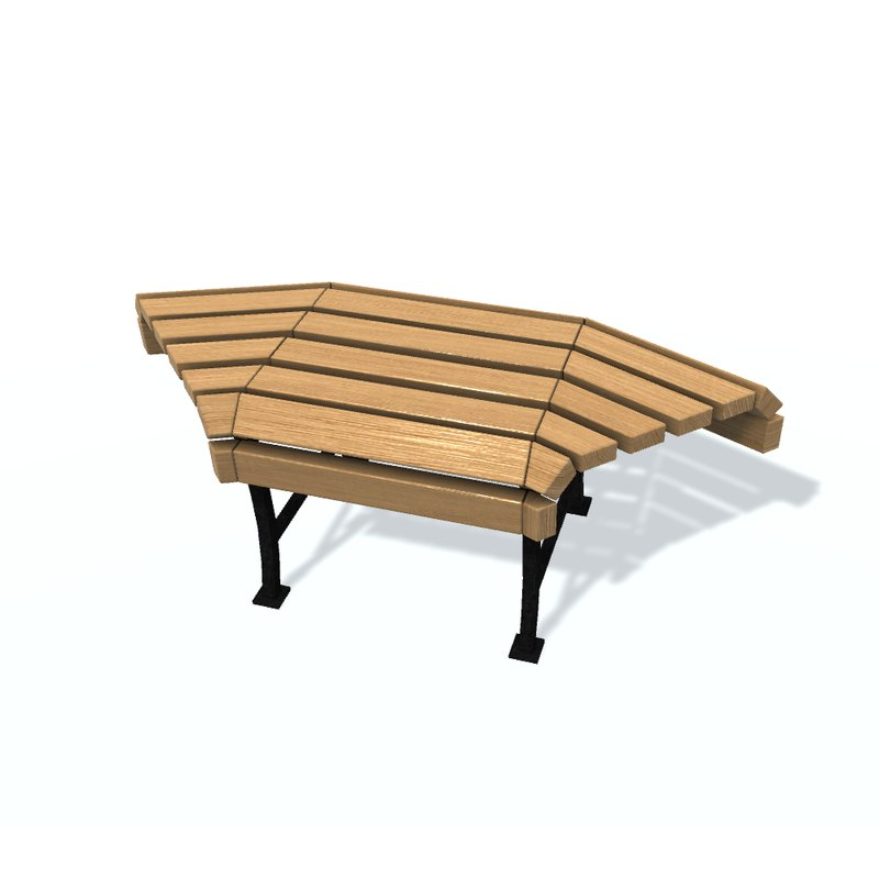 3D usual bench d