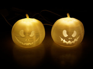 halloween pumpkins printing model