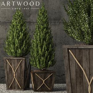 3D plants 64 model