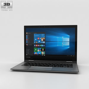 3D model toshiba satellite radius
