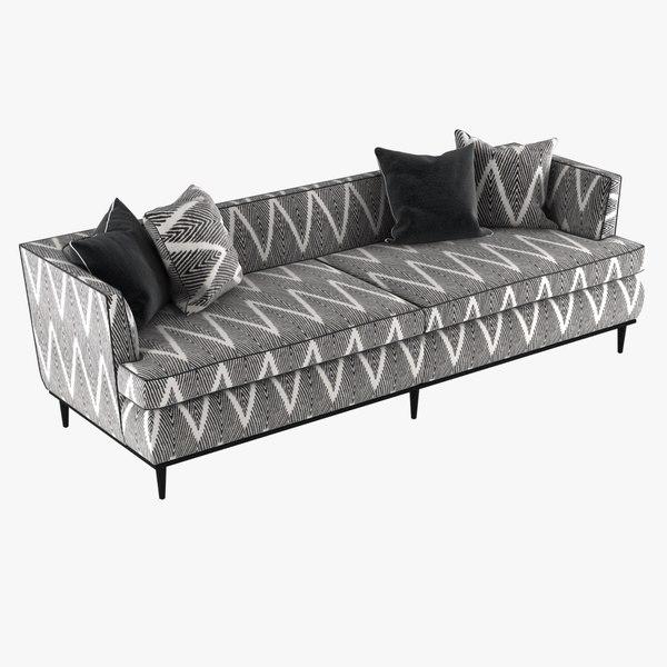 sofa monroe kate spade 3D model