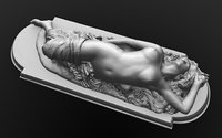 3D greek maenads female bacchantes