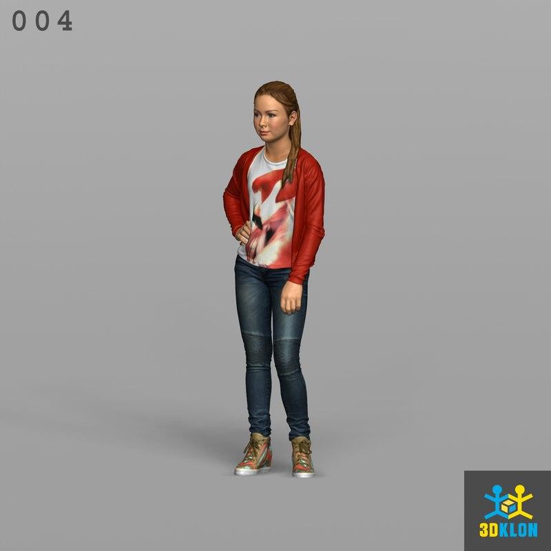 scan standing 3D model
