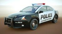 Generic Police Sedan v11