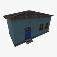 3D model border crossing station