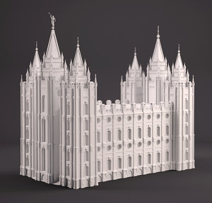 sla printing 3D model