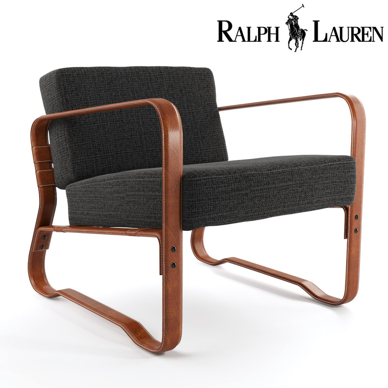 ralphlaurenhome lounge chair 3D model