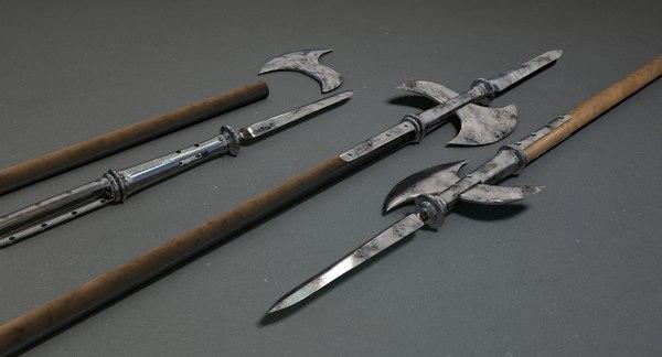 spear weapon 3D model