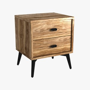 chest mcqueen bedside la 3D model