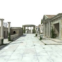 Ancient Greek 3D Model 2