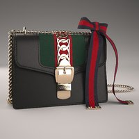 f30aed2ede8 3D model gucci sylvie leather mini