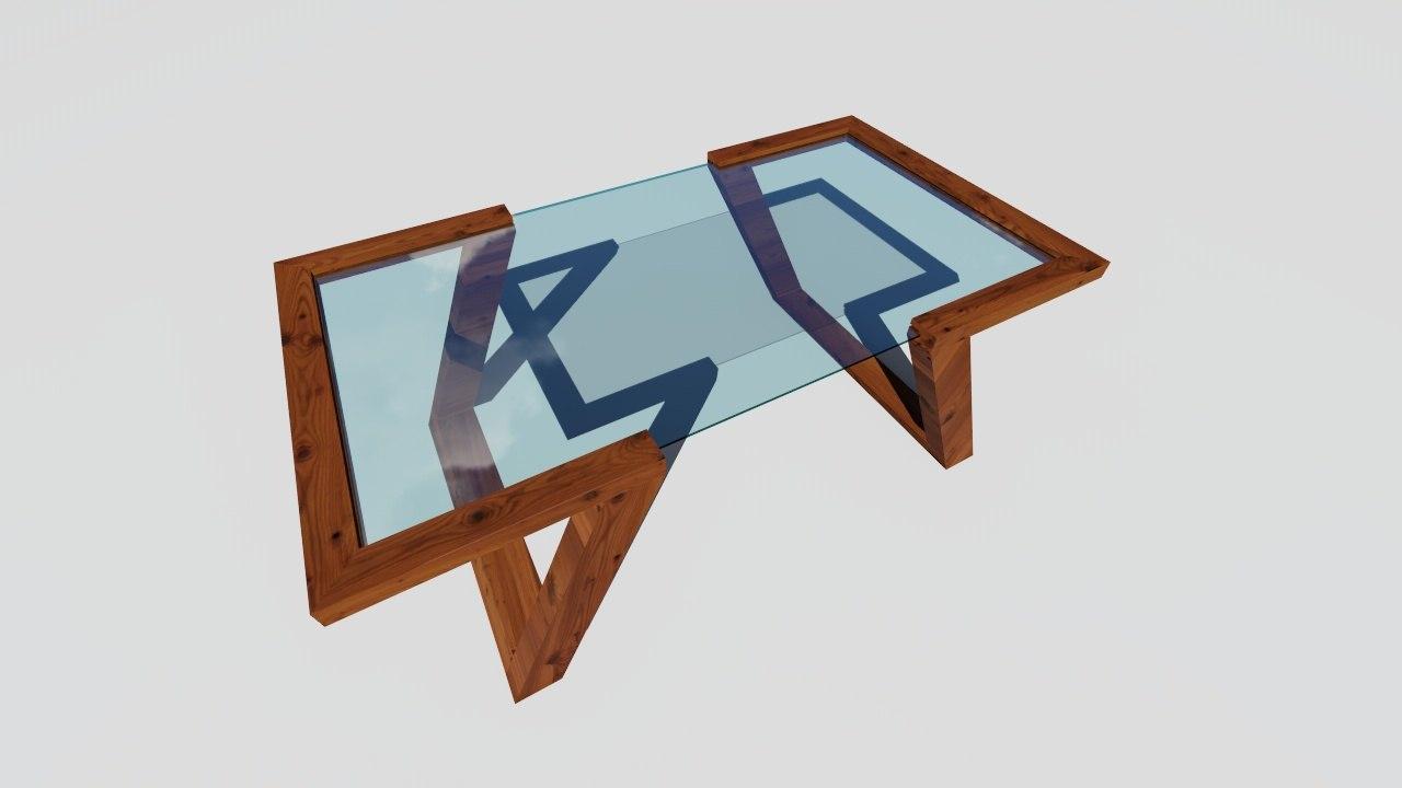table render 3D