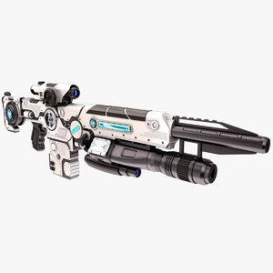 weapon 02 3D model