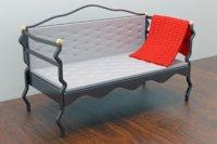 mini sofa italian style 3D model