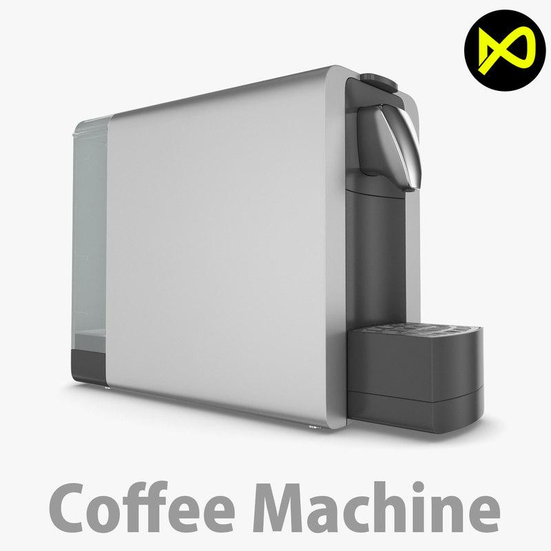 machine coffee 3D model