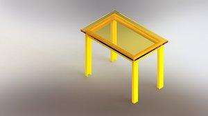 modeled plastic 3D