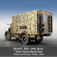Opel Blitz - 3t Truck with Radiokoffer