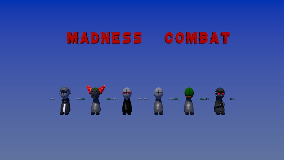 3D madness rigs end model