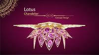 Lotus Agette Chandelier